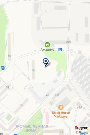 ВНИИ ПТИЦЕПЕРЕРАБАТЫВАЮЩЕЙ ПРОМЫШЛЕННОСТИ на карте Солнечногорска