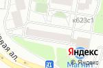 Схема проезда до компании Обои & Люстры в Москве