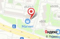 Схема проезда до компании Трастпесо в Москве