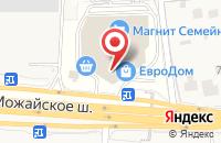 Схема проезда до компании Олавия в Одинцово