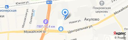 ДорХан 21 век на карте Акулово