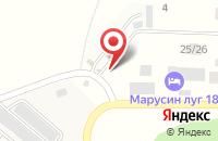 Схема проезда до компании Шиномонтажная мастерская в Льялово