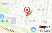 Схема проезда до компании Юниверсал-Ворлд в Москве