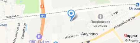 ДЭП №13 на карте Акулово