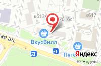 Схема проезда до компании Медиал Холдинг в Москве