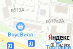Схема проезда до компании MaxFit в Москве