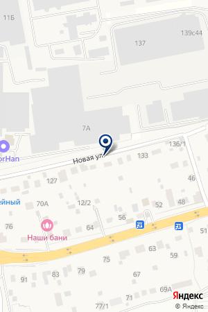 ДРСУ-13 на карте Новой