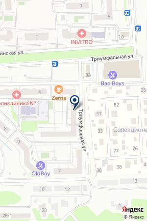 МИТРА на карте Акулово