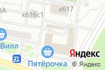 Схема проезда до компании Фон-Маркет в Москве