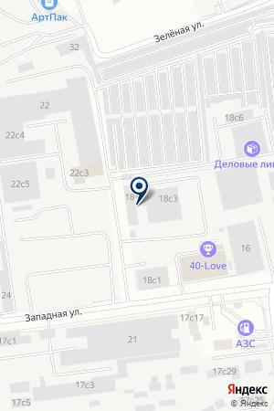 ЭКОВУД на карте Акулово