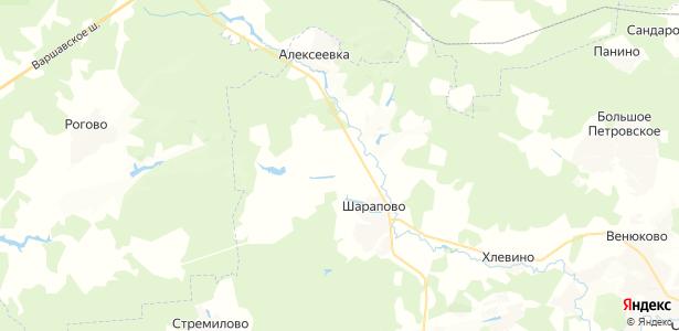 Алфёрово на карте