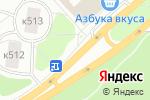 Схема проезда до компании Айс Маркет в Зеленограде