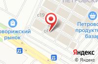 Схема проезда до компании Петровский Строительный Двор в Михалково
