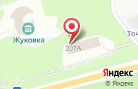 Схема проезда до компании Жуковка в Жуковке