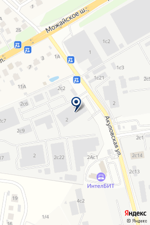 Венткор на карте Акулово