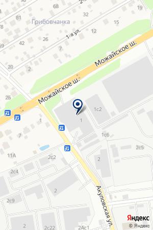 Альфа Хаус на карте Акулово