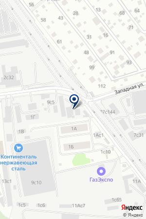 Мегаполис на карте Акулово