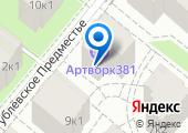 Рублевское предместье на карте