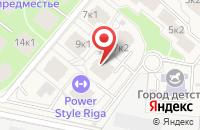 Схема проезда до компании Рублевское предместье в Глухово