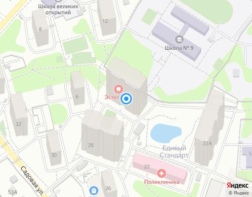 Товарищество собственников недвижимости «Садовое» на карте Одинцово
