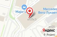 Схема проезда до компании Major Ford в Михалково