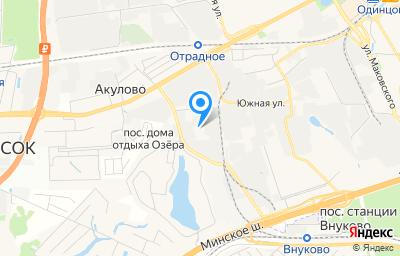 Местоположение на карте пункта техосмотра по адресу Московская обл, г Одинцово, ул Акуловская, д 11А стр 3