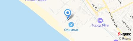 Банкомат Банк Петрокоммерц на карте Анапы