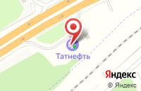 Схема проезда до компании АЗС Татнефть в Бородках