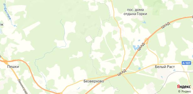 Редькино на карте