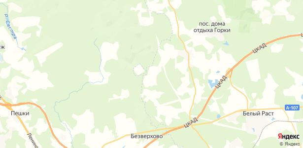 Федотово на карте
