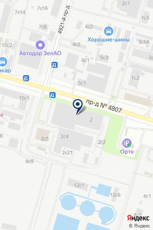 АВТОЦЕНТР ДАВЛАС на карте Новой