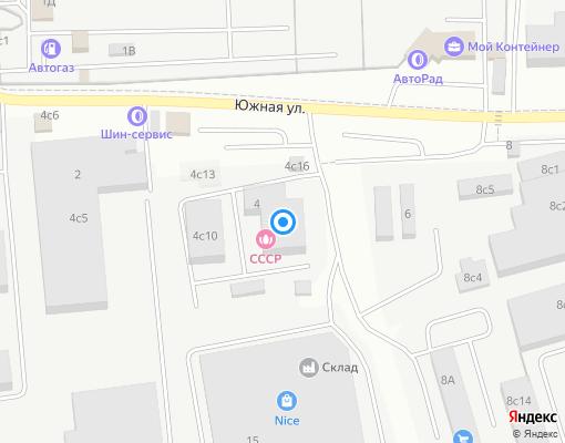 Управляющая компания «Одинцовская теплосеть» на карте Одинцово
