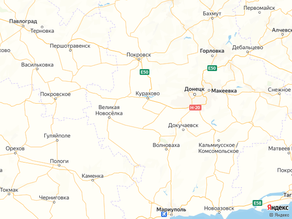 село Веселый Гай на карте