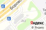 Схема проезда до компании Максипаркинг в Москве