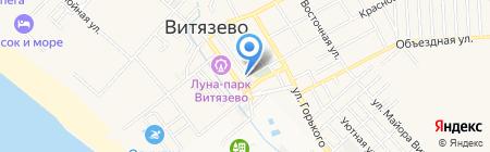 Ростислав на карте Анапы