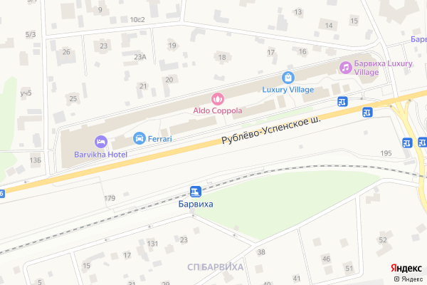 Ремонт телевизоров Рублево Успенское шоссе на яндекс карте