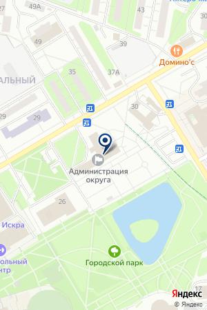 РЕДАКЦИЯ ГАЗЕТЫ НОВЫЕ РУБЕЖИ на карте Одинцово