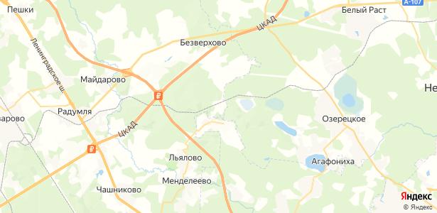 Покров на карте