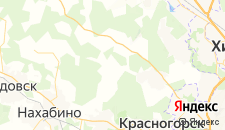 Базы отдыха города Сабурово на карте