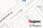 Схема проезда до компании Внуково 2017 в Ликовой