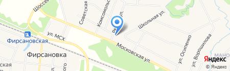 Почтовое отделение №141441 микрорайона Фирсановка на карте Химок