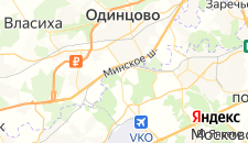 Гостиницы города Внуково на карте