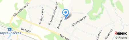 Фирсановское поликлиническое отделение на карте Химок
