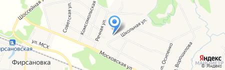 Детский сад №23 Чебурашка на карте Химок