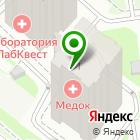 Местоположение компании КрасМаркет