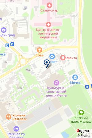 ВЕТЕРИНАРНАЯ АПТЕКА АСВЕТ на карте Одинцово