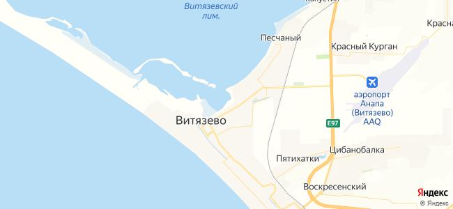 Частный сектор Витязево - объекты на карте