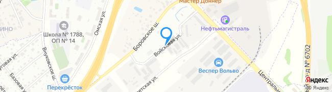 Войсковая улица