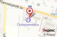 Схема проезда до компании АЗС Нефтьмагистраль в Юрлово