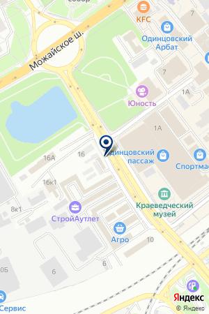 АВТОМАСТЕРСКАЯ АВТОМИГ на карте Можайска